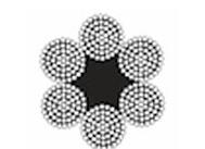 6*61圆股钢丝绳(光面和镀锌)