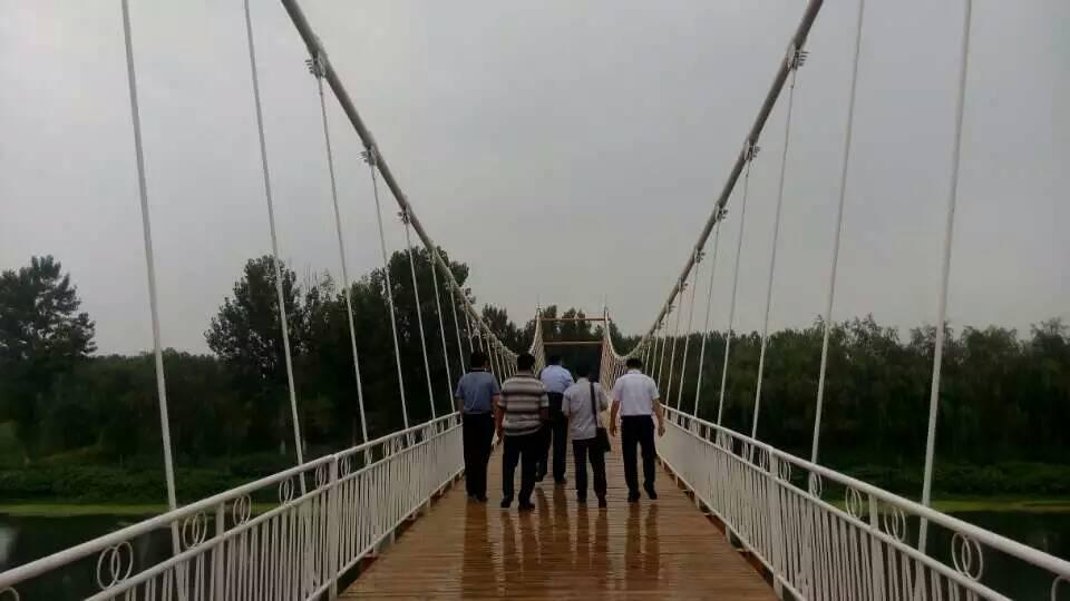 天津武清中药园索桥