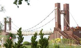 天津七里海湿地公园人行桥